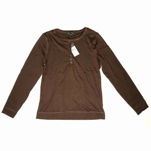 Lauren Jeans Co. Long Sleeve (Brown)